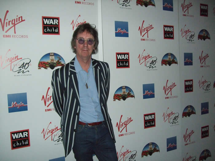 keith smart at virgin 40 exhibition