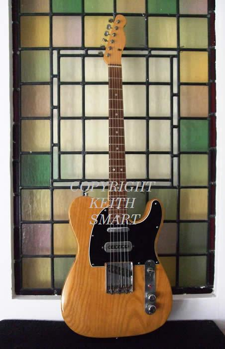 Mike Oldfield's Fender Telecaster  ex Marc Bolan