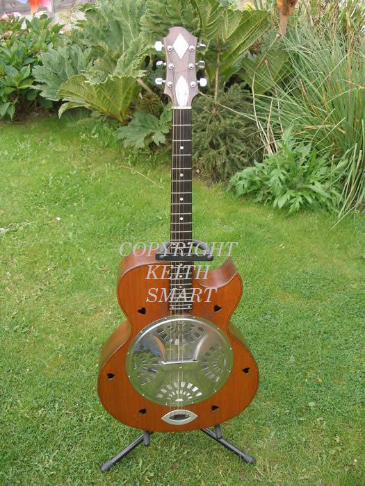 Zemaitis resonator made for RONNIE LANE of THE FACES